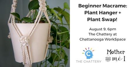 Beginner Macrame: Plant Hanger and Plant Swap!  tickets