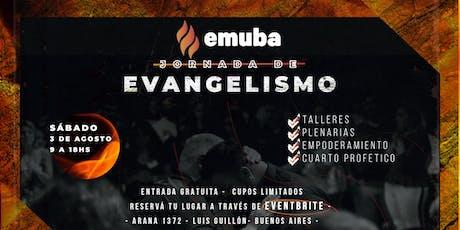 JORNADA DE EVANGELISMO entradas
