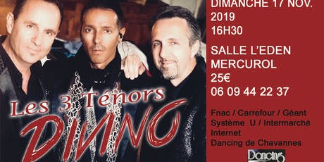 DIVINO - LES TROIS TENORS billets