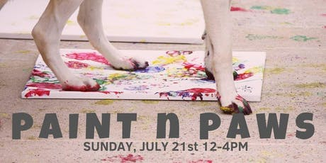 Paint N Paws- Dog Days of Summer!  tickets