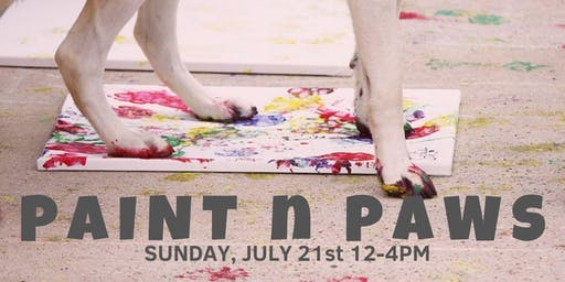 Paint N Paws- Dog Days of Summer!