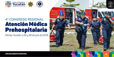 4o Congreso Regional de Atención Médica Prehospitalaria boletos