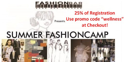 Summer FashionCamp - Execute a Fashion Show at NorthBrook Mall: FASHION GIVES BACK