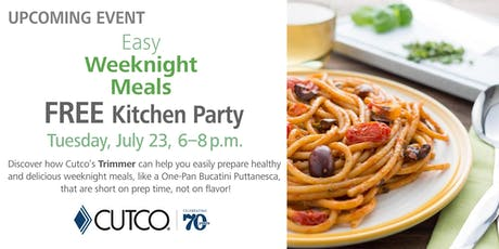 FREE Cooking Class: Easy Weeknight Meals tickets