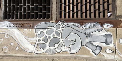 Storm Drain Art Walking Tour