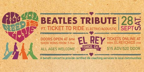 Beatles Tribute ft. Ticket To Ride Electric/Acoustic tickets
