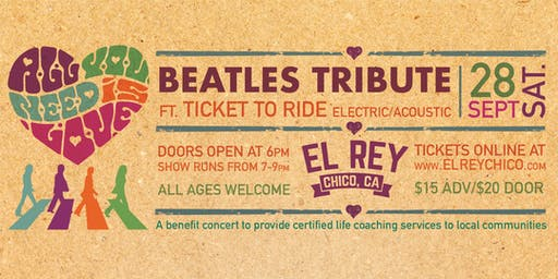 Beatles Tribute ft. Ticket To Ride Electric/Acoustic