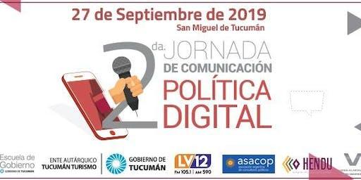 2da Jornada en Comunicación Política Digital