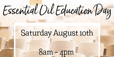 Essential Oil Education Day tickets