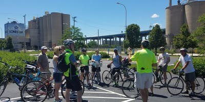 Bike Tour - History in the Menomonee River Valley
