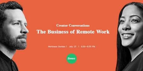 Creator Conversations: The Business of Remote Work tickets
