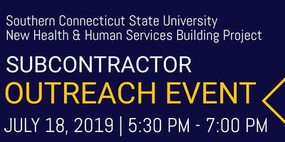 SCSU New Health &n Human Services Buidling Project - Subcontractor Outreach
