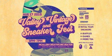 Valley Vintage & SneakerFest  tickets