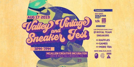 Valley Vintage & SneakerFest
