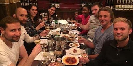 Wine and Tapas evening in London biglietti