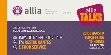 Impacto na produtividade em restaurantes e food service bilhetes