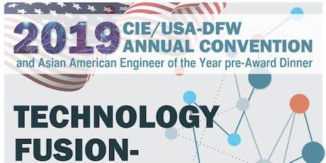 2019 CIE/USA-DFW 30th Anniversary and 18th AAEOY pre-Award Banquet tickets