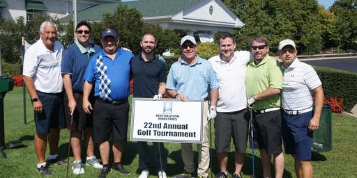 Restoration Ministries' 24th Annual Golf Tournament