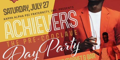 Achievers - The Pre-Conclave Day Party tickets