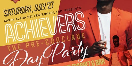 Achievers - The Pre-Conclave Day Party