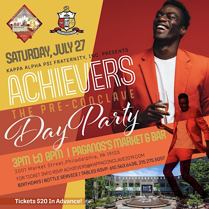 Achievers - The Pre-Conclave Day Party image