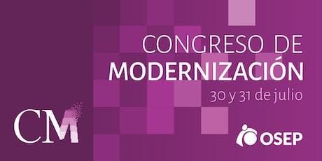Primer Congreso de Modernización de OSEP  entradas