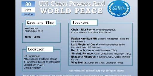 UN, Great Powers and World Peace
