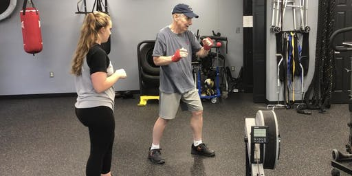 Thursday-Rock Steady Boxing (For Parkinson's Clients) at DPI Adaptive Fitness ($25)