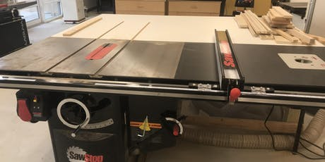 Basic Use and Safety: Table Saw tickets