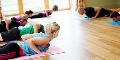 Pilates Monday 7.30pm September/October Term - 8 week class block Improvers/Intermediate