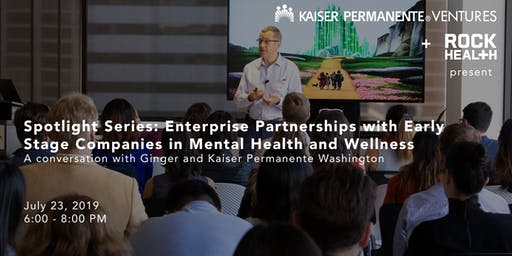 Spotlight Series: Enterprise Partnerships with Early Stage Companies in Mental Health and Wellness