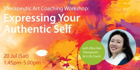 Therapeutic Art Coaching Workshop: Expressing Your Authentic Self tickets