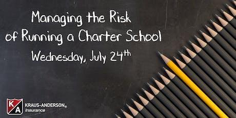 2019 Managing the Risk of Running a Charter School Seminar tickets