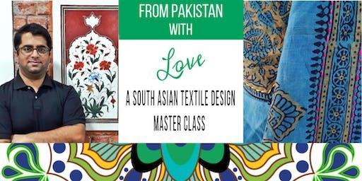 MASTER CLASS: Contemporary Textile Design