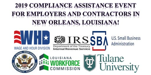 2019 Compliance Assistance Event for Employers and Contractors in New Orleans, Louisiana!