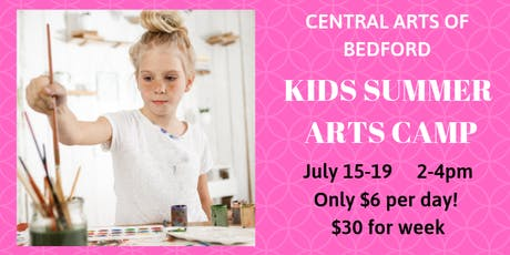 Bedford Kids Arts Camp: July 15-19 tickets