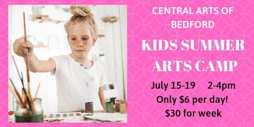 Bedford Kids Arts Camp: July 15-19