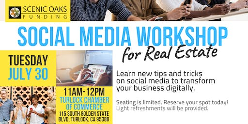 Social Media Workshop for Real Estate (Turlock)