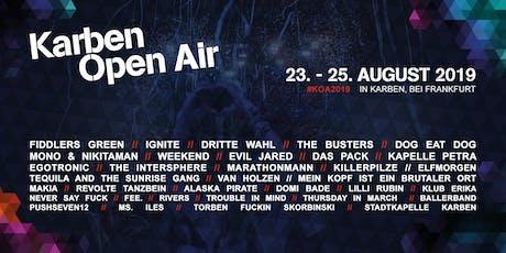 Karben Open Air GETRÄNKE PRE-ORDER Tickets