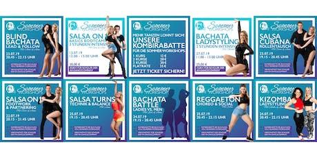 Sommer Workshops by AH-DanceCompany - Salsa, Bachata, Kizomba, Reggaeton Tickets