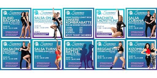 Sommer Workshops by AH-DanceCompany - Salsa, Bachata, Kizomba, Reggaeton