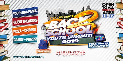 The 2019 Back 2 School Youth Summit!