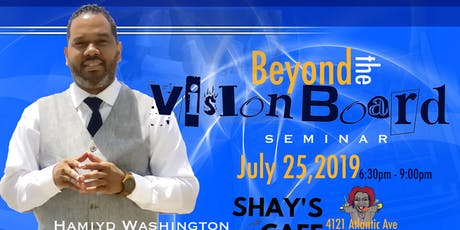 Beyond the Vison Board tickets