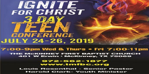 IGNITE FOR CHRIST TEEN CONFERENCE 2019