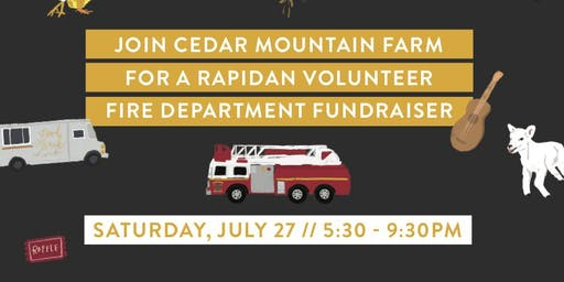 Rapidan Volunteer Fire Department Fundraiser