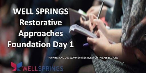 1 Day Foundation Training in Restorative Practice
