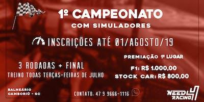 1º Campeonato Need 4 Racing - Balneário Camboriú
