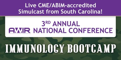 Simulcast - 3rd Annual Association of Women in Rheumatology: Immunology Bootcamp tickets