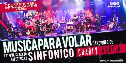 """Música para Volar """"SINFÓNICO CHARLY GARCIA"""" (PREVENTA)"""