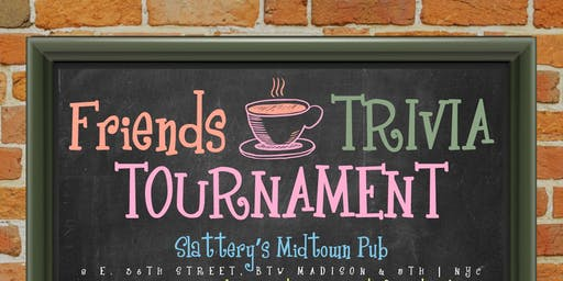 """Friends Trivia Tournament: """"The One with the Champions"""""""